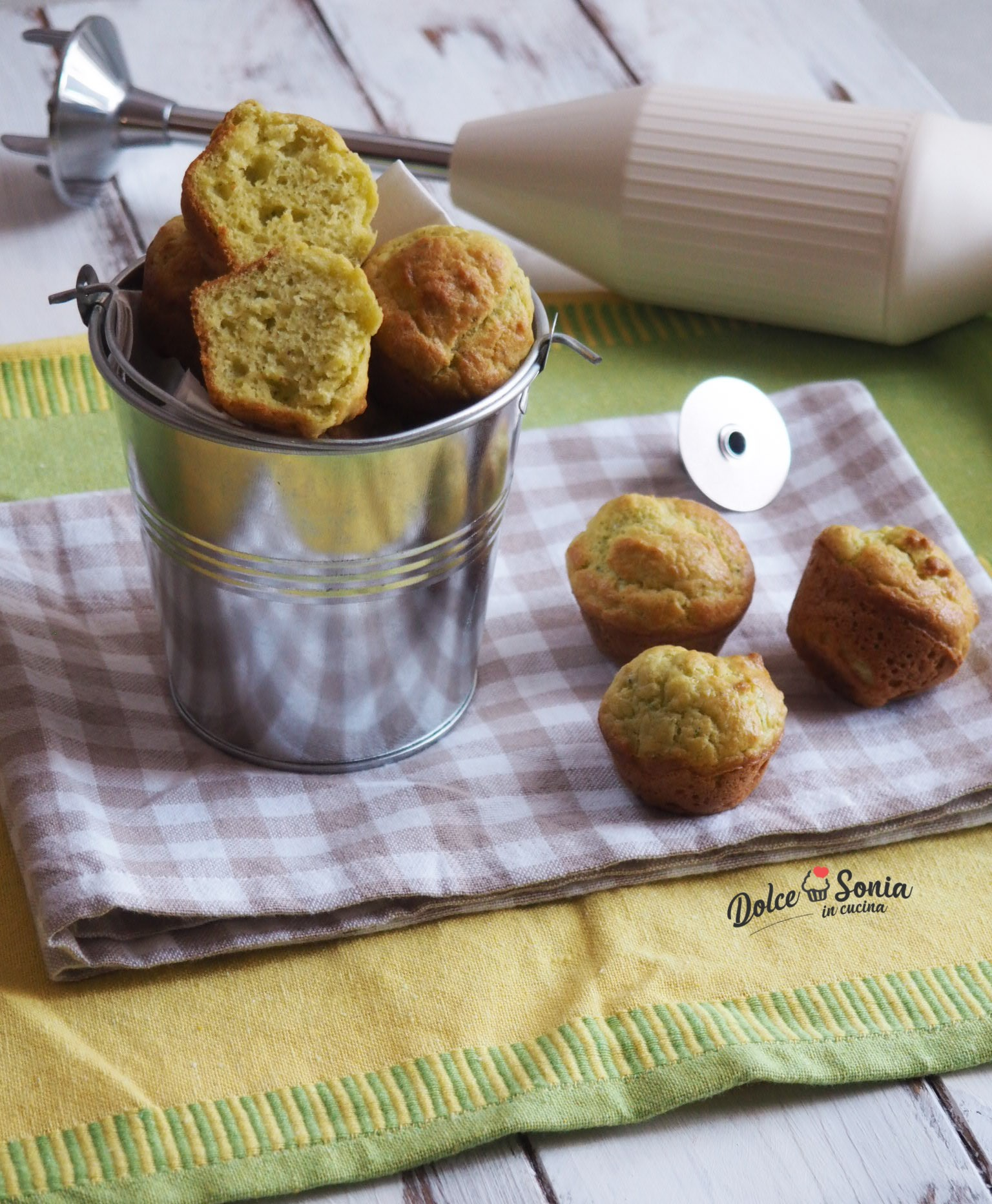 Mini Muffin al pesto